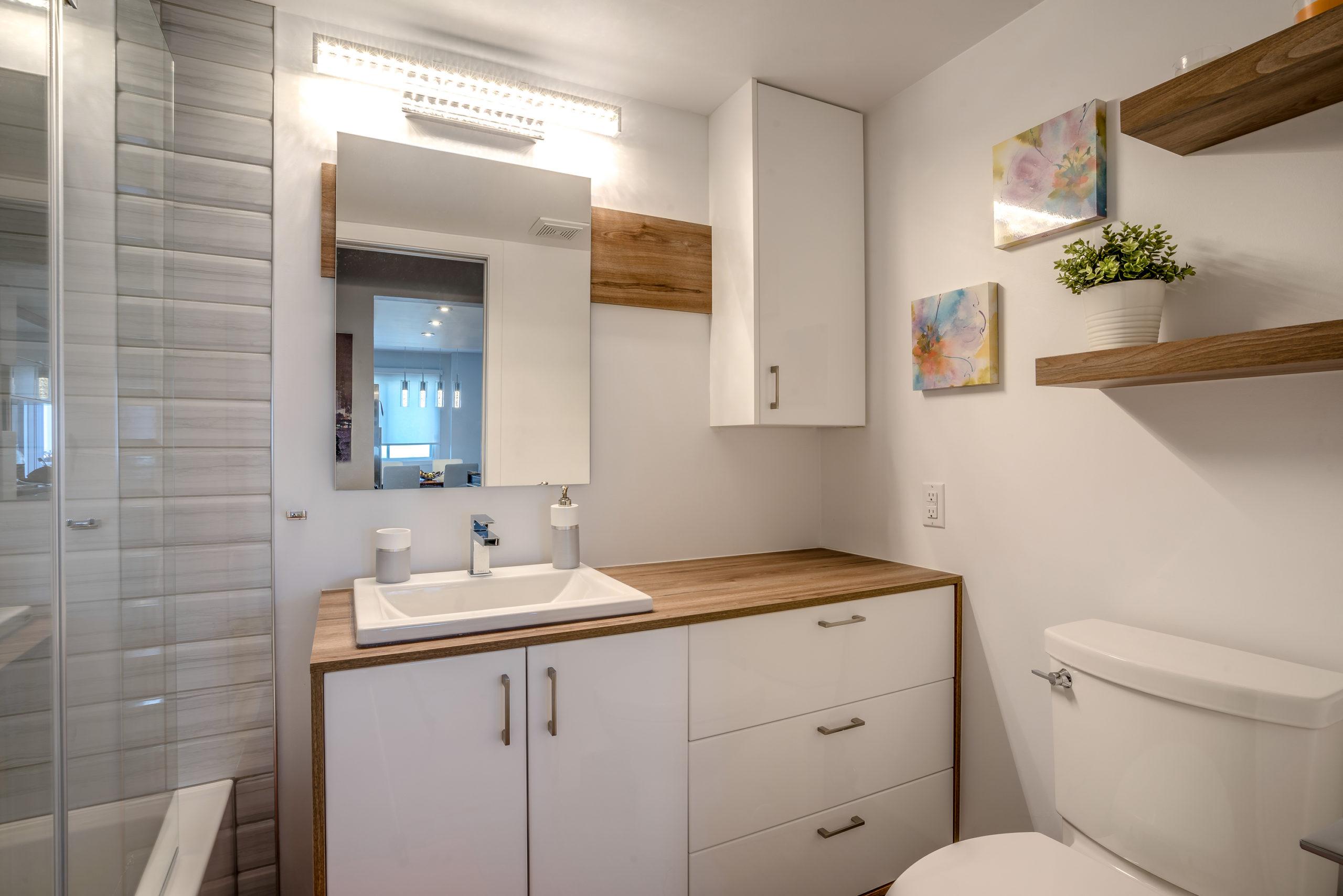 Salle de bain neuve 2